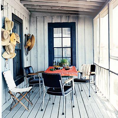 cowboy front porch