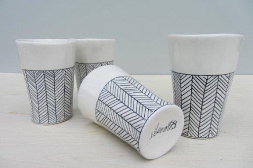 herringbone cups